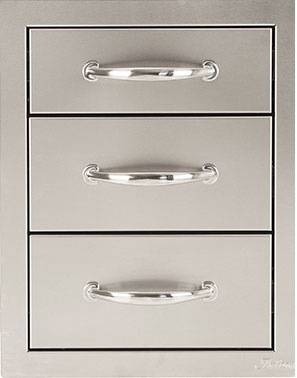 triple drawer